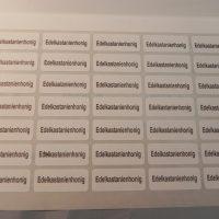 105 Etiketten selbstklebend,Imkerei,Imker,Aufkleber Phaceliahonig